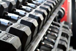 Håndvægte i fitness