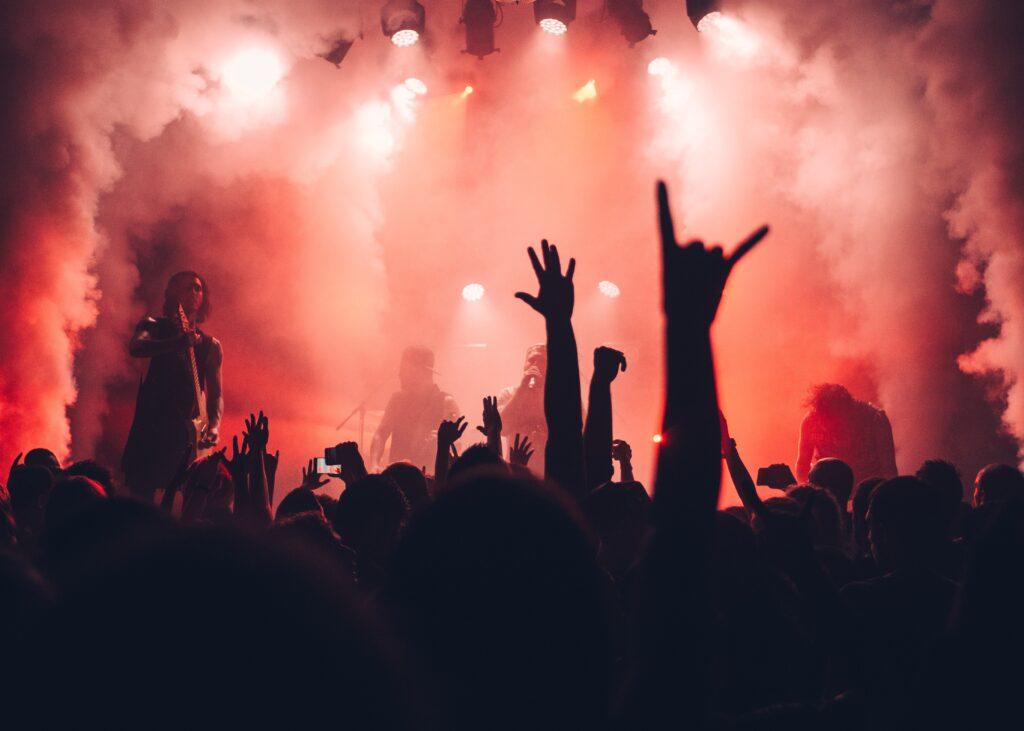 Rockmusik til livekoncert